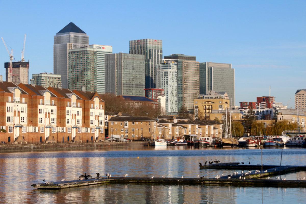 Londen, de vernieuwde Docklands