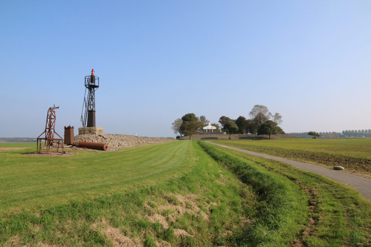 Oud-Kraggenburg, van leidam tot landart
